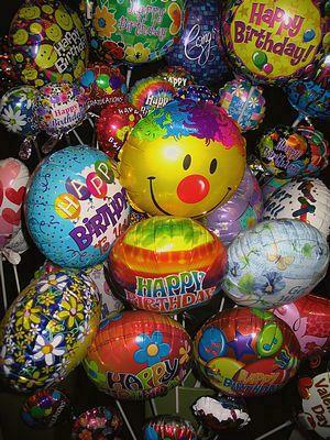 Balloon must be accompanied by flower selection NO 25V